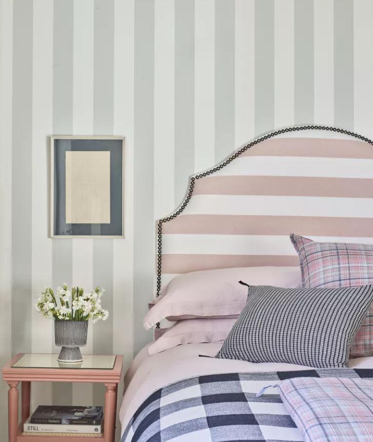 checks and stripes interior design and decorating