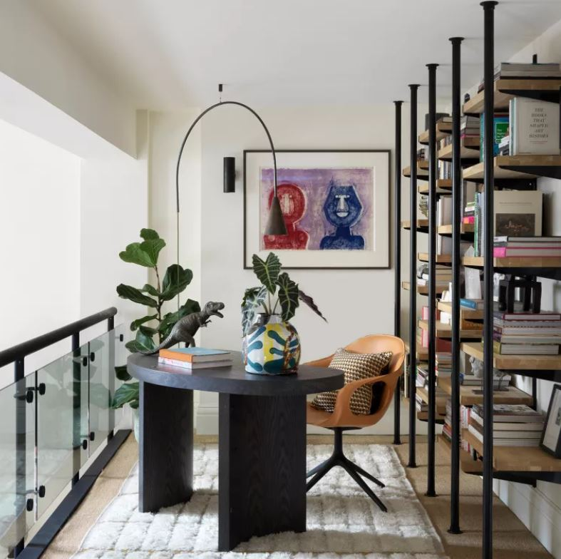 home office interior design and decorating